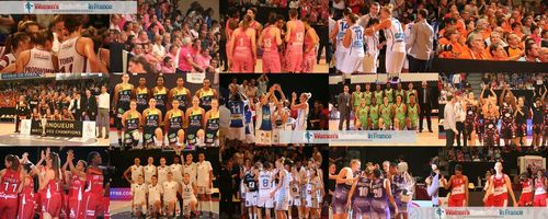 2014 Players and teams from the Ligue Féminine de BasketLigue Féminine de Basket