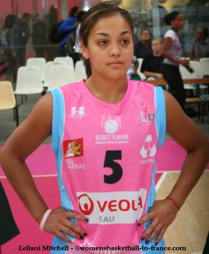 Leilani Mitchell © womensbasketball-in-france.com