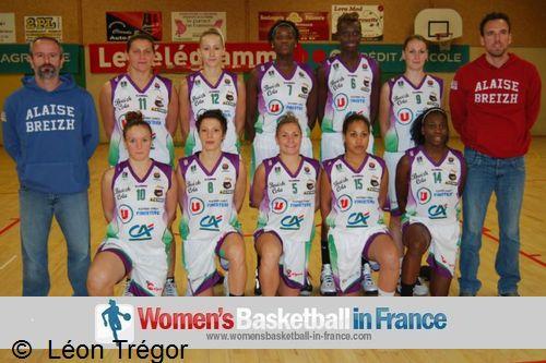 Léon Tregor 2012-2013 team picture