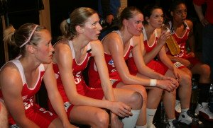 NF1 final four time-out for Lyon © womensbasketball-in-france.com