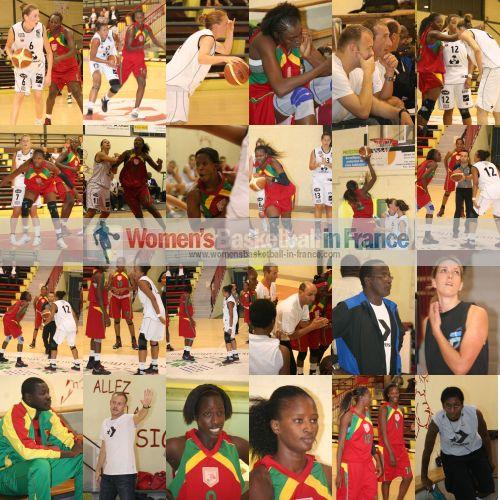 Illkirch-Graffenstaden  vs. Mali  ©  womensbasketball-in-france.com