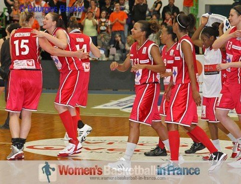 Mondeville eliminate Bourges Basket from Coupe de France © Bourges Basket