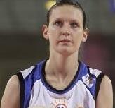 Olga Podkovalnikova playing basketball for Montpellier   © Lattes Montpellier