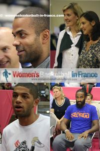 Parker,Fijalkowski-Tournebize, Le Dréan, Butum and Turiaf © womensbasketball-in-france.com