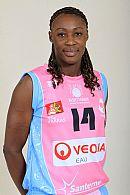 Pauline Akonga N'Simbo © Ligue Féminine de Basketball