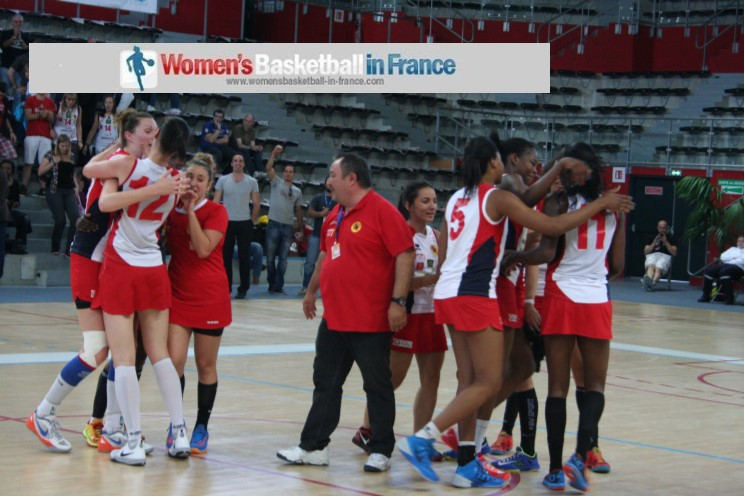 Perpignan Basket qualify for their second LF2 championship game after edging out Roche Vendée (55-53)