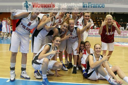 Poland won bronze 2011  © womensbasketball-in-france.com