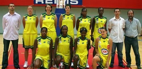 Reims Basket Féminin team picture   © Reims Basket Féminin