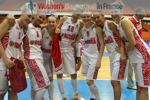 Russia qualified for semi-final 2011  © womensbasketball-in-france.com