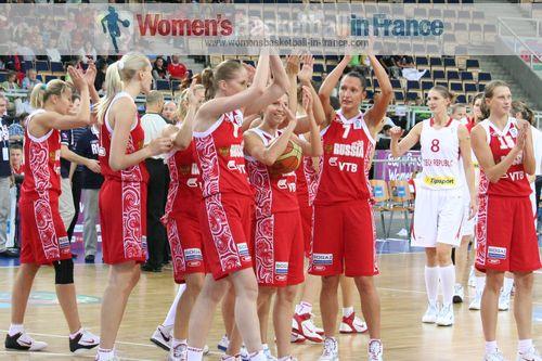 Elena Danilochkina at EuroBasket Women 2011 © womensbasketball-in-france.com