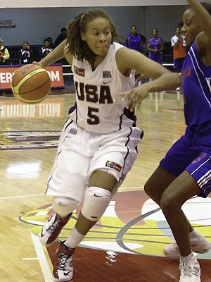 Seimone Augustus ©  USA Basketball