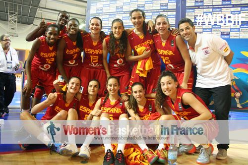 2014 FIBA U17 World CHampionship team from Spain