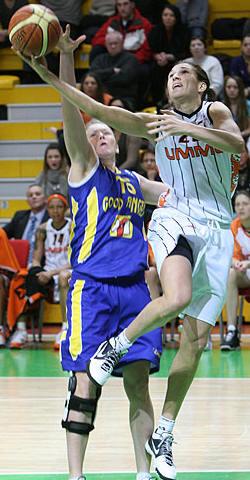 Svetlana Abrosimova © FIBA Europe - UMMC Ekaterinburg