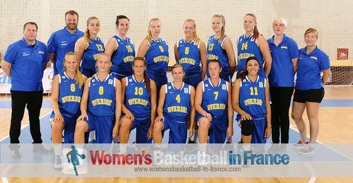 Sweden U18 2013 team picture