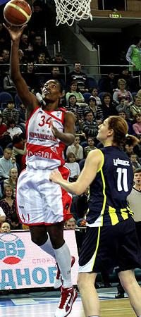 Sylvia Fowles  © FIBA Europe - Spartak Moscow