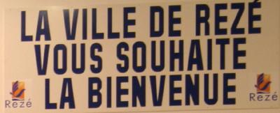 The home of Nantes-Rezé Basket 44 slogan ©womensbasketball-in-france