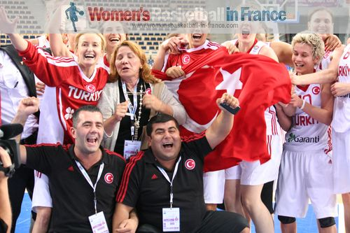 Turkey qualified for semi-final at EuroBasket Women 2011 © womensbasketball-in-france.com