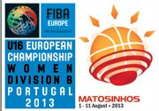 2013 U16 European Championship for Women Division B Logo