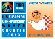 2013 U18 European Championship for Women Division A Logo