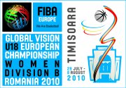 FIBA Europe U18 European Championship poster 2010 © womensbasketball-in-france.com