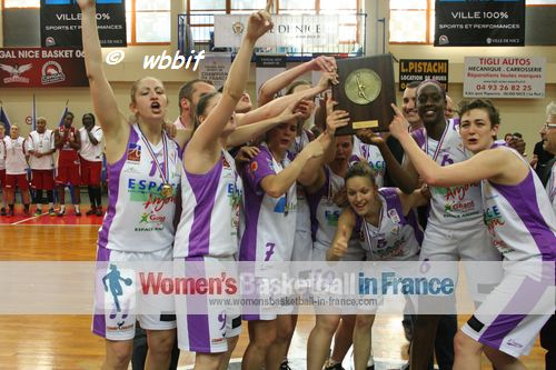 Angers - UFAB 49 2013 LF2 champions of France