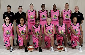 Union Basket 2008-20009 © Ligue Féminine de BasketBall