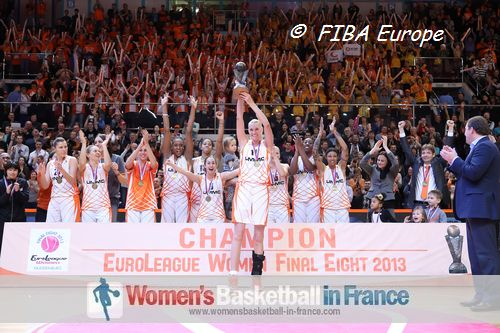 2013 EuroLeague Women Champions: UMMC Ekaterinburg