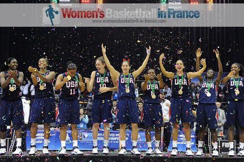 2011 FIBA U19 World championship for women winners - USA © FIBA