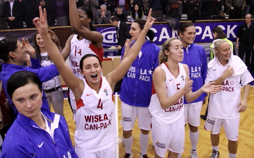 Wisla Can-Pack on the way to FIBA Europe EuroLeague Women final four  © Krzysztof Porębski