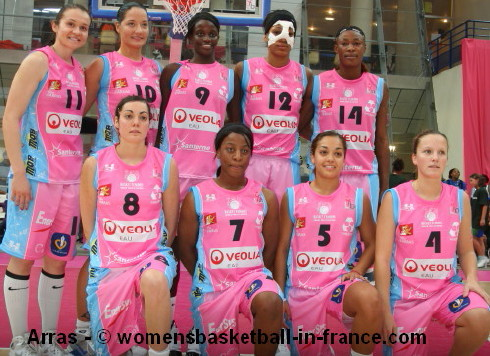 Arras at the 2009 Open LFB  © womensbasketball-in-france.com
