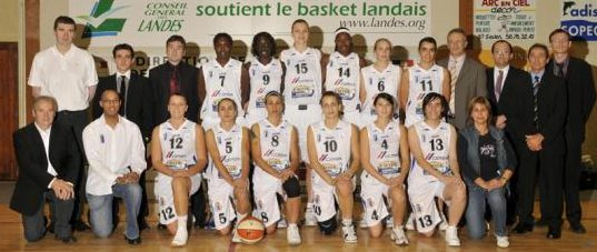 Basket Landes 2008-2009 © basket Landes