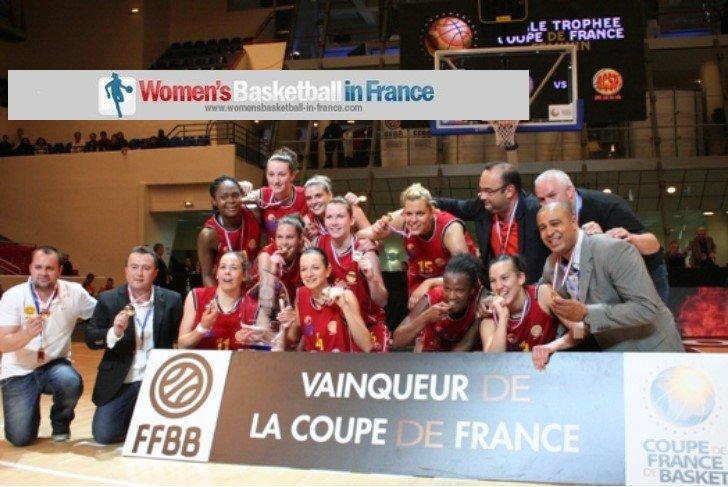 Trophée féminin Coupe de France 2014 winners are CSP Rezé