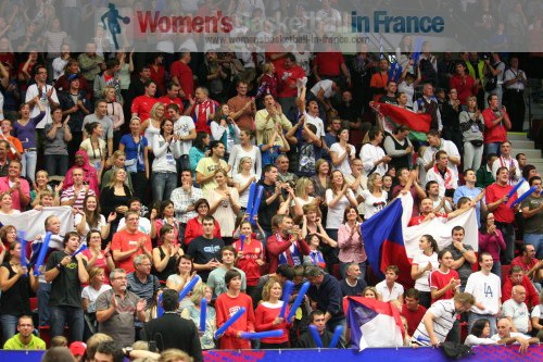 Spectators at the FIBA  World Championship Women  © womensbasketball-in-france.com