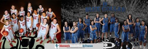 2012-13 The Davidson Wildcats and the Blue Devil women's basketball team