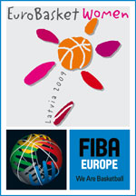 EuroBasket Women 2009 Logo © FIBA Europe