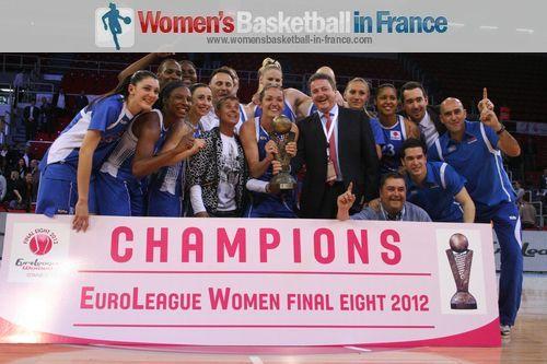 2012 EuroLeague Women Champions - Ros Casares © womensbasketball-in-france.com