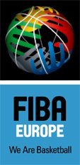FIBA Europe Logo - We are basketball © FIBA Europe