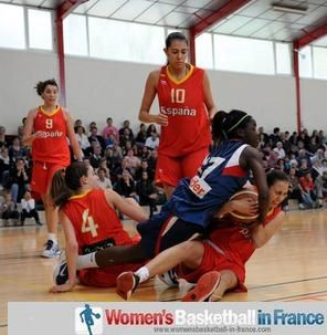 France U16 against Spain U16 (2) - Poinçonnet © Serge Vialle