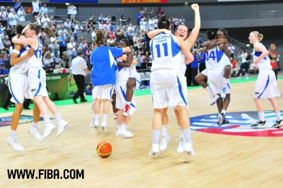 France U17 are in semi-final © FIBA
