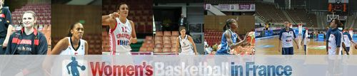 2011-2012 players in the LFB   ©  womensbasketball-in-france.com