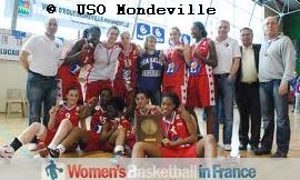 USO Mondeville 2011 U18 Champions of France © USO Mondeville