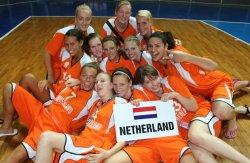 The Netherlands U18 in Skopje