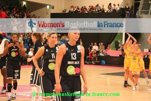 Tatyana Troïna and Yuliya Andreyeva at the Open LFB in Paris