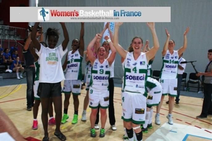 Pau Lacq-Orthez 2014 LF2 final 4:  Julie Borde; Velia Bosch, Mariame Dia, Awa Gueye, Martha Chrzanowski
