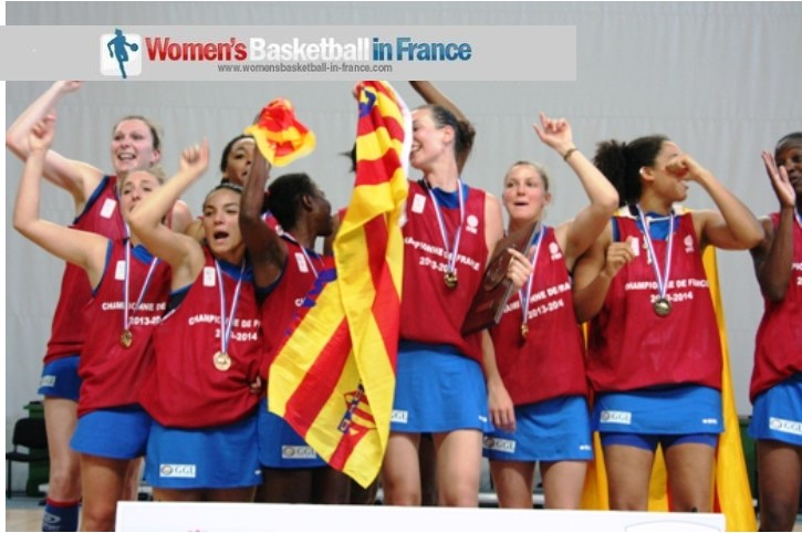 Perpignan Basket qualify for their second LF2 championship again in 2014
