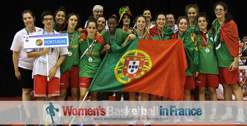 Portugal U16  - 2013 Div B runners-up