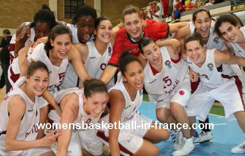 Portugal U20 flying high  © womensbasketball-in-france.com