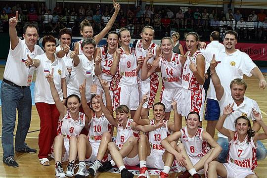 2010 FIBA Europe U16 European Champions - Russia © FIBA Europe