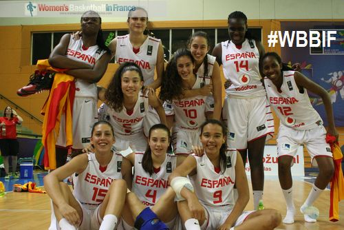 Spain U17 qualify for FIBA U17 World Championship for Women semi-final